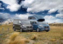 Připravte se na dovolenou s novým obytným vozem Ford