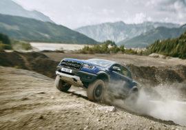 Modernizovaný Ford Ranger Raptor dorazí také do ČR