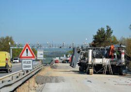 Ve výstavbě je 150 km dálnice, D1 se v plné délce otevře na podzim