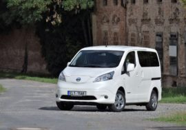 TEST: Nissan e-NV200