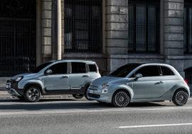 Ikonické modely Fiat 500 a Panda se dočkaly hybridní verze