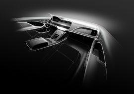 Obrazovky v interiérech automobilů už nemusí být rovné