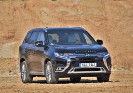 TEST reálné spotřeby: Mitsubishi Outlander PHEV