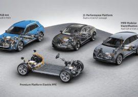 Audi představuje čtyři nové platformy pro elektromobily