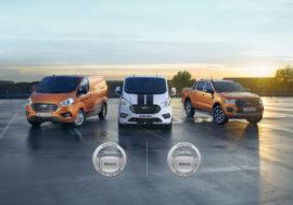 Užitkové vozy Ford ocenila prestižní anketa