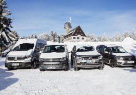Volkswagen Užitkové vozy vedou segment užitkových vozů
