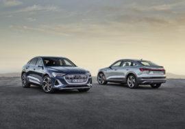 Audi e-tron Sportback je dostupné pro české zákazníky ve dvou verzích