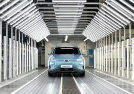 Elektrický Hyundai Kona vyrábí český závod