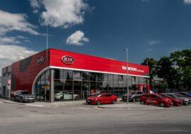 Kia modernizuje showroomy české dealerské sítě