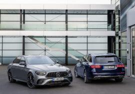 Mercedes-Benz Třídy E hýčká posádku při jízdě a ochrání se před vandaly