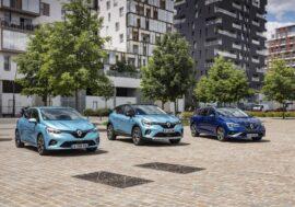 Renault zavádí hybridní verzi hned u třech modelů