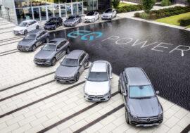 Poznejte plug-in hybridy a elektromobily na roadshow Mercedes-Benz