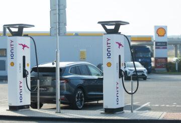 Shell spustil provoz první ultra rychle nabíječky v ČR