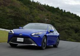 Vodíková Toyota Mirai ujede 650 kilometrů