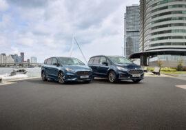 Ford Galaxy a S-Max prořídíte nyní s hybridním pohonem