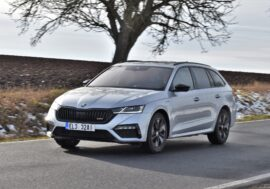 TEST: Škoda Octavia RS iV