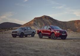 Ford Ranger představuje nové limitované edice a prvky výbavy
