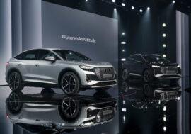Audi Q4 a Q4 Sportback rozšiřují nabídku modelů e-tron