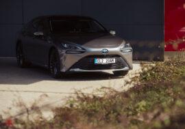 Český trh přivítal první vodíkovou Toyotu