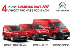 Startují Citroën BUSINESS DAYS – fleety nakupují se slevou až 366700 Kč!