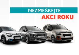 Happy Days Citroën přináší týden slev přímého i online prodeje
