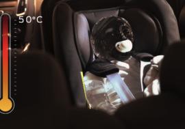 Novinka od Fordu zamezí zapomenutí dítěte v autě