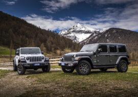 Jeep Wrangler 4xe – elektrifikace posiluje terénní schopnosti