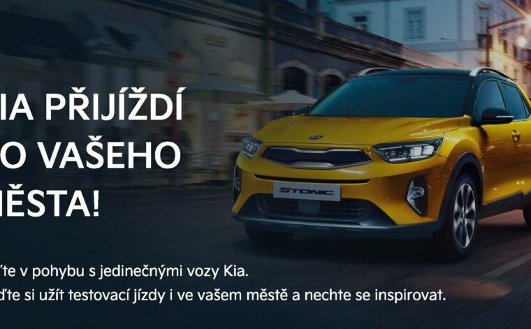 Startuje Kia roadshow - objevujte nové vozy a technologie